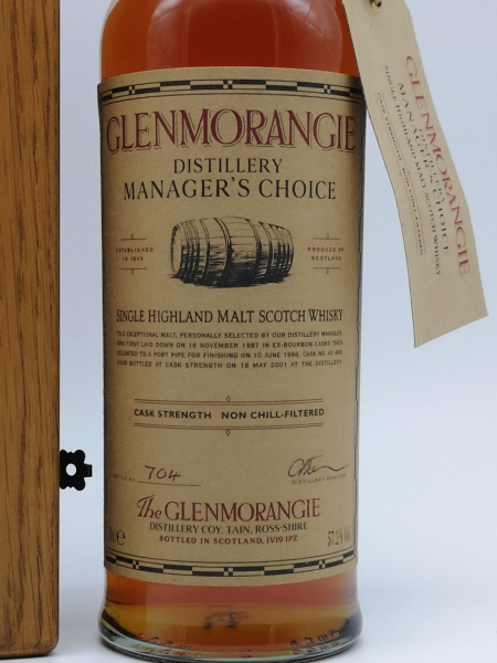 Glenmorangie Manager´s Choice  0,7 L